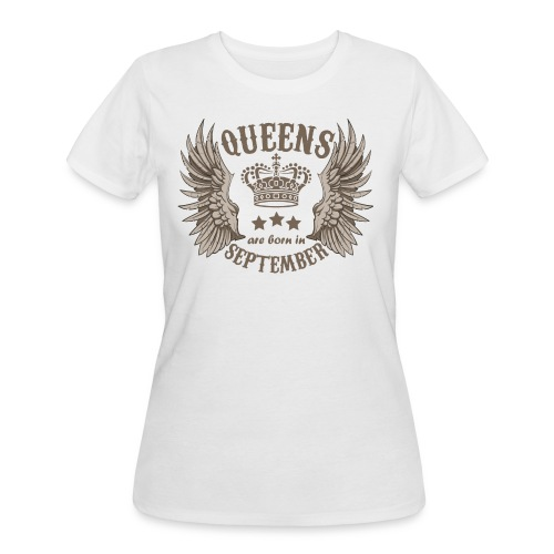 Queens are born in September - Women's 50/50 T-Shirt