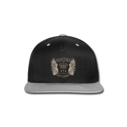 Queens are born in September - Snap-back Baseball Cap