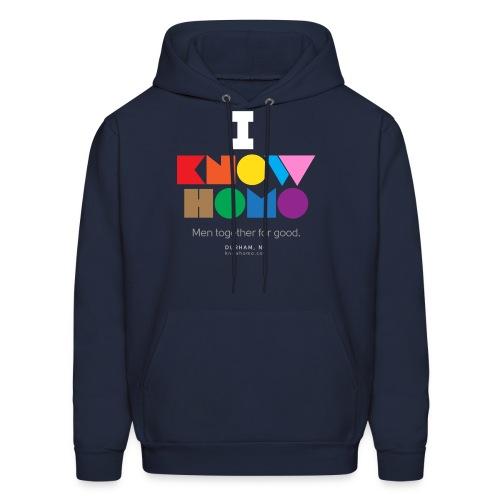 I Know Homo T-Shirt - Men's Hoodie