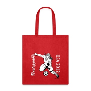 USA Soccer 2012 - Unstoppable - Tote Bag