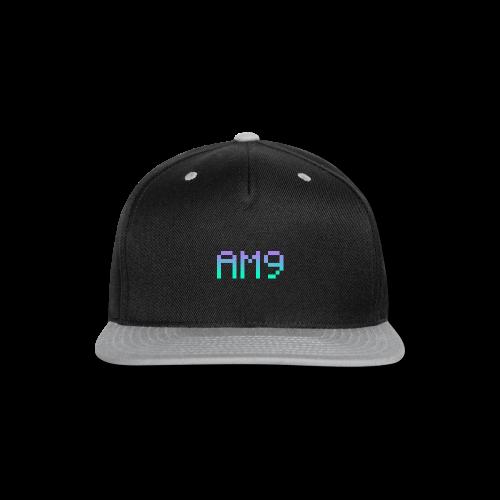 Mens AM9 Summer Collection T-shirt  - Snap-back Baseball Cap