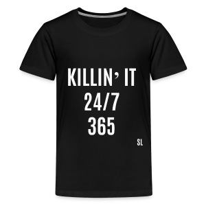 Killin' It Shirt by Stephanie Lahart. - Kids' Premium T-Shirt