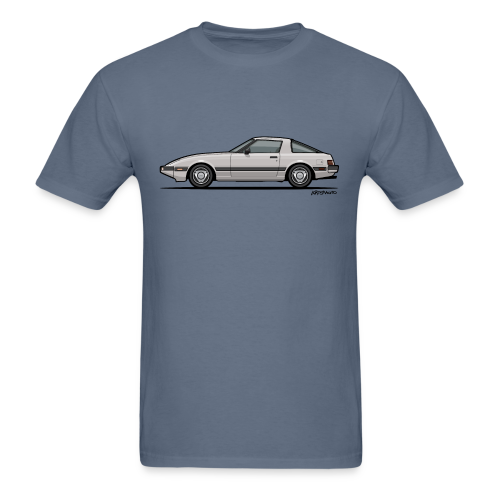 Mazda RX-7 RB Savanna Sunbeam Silver - Men's T-Shirt