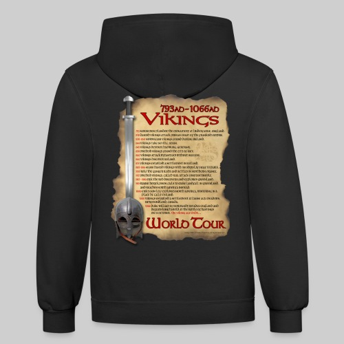Viking World Tour 1 - Contrast Hoodie