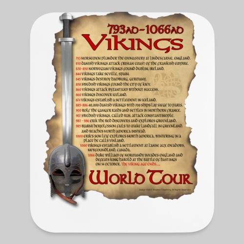 Viking World Tour - Mouse pad Vertical
