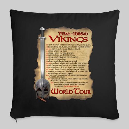 Viking World Tour 1 - Throw Pillow Cover