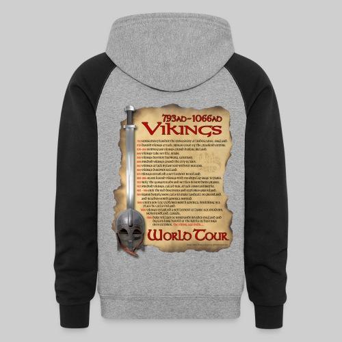 Viking World Tour 1 - Colorblock Hoodie