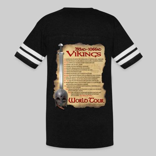Viking World Tour 1 - Vintage Sport T-Shirt