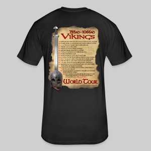 Viking World Tour - Fitted Cotton/Poly T-Shirt by Next Level