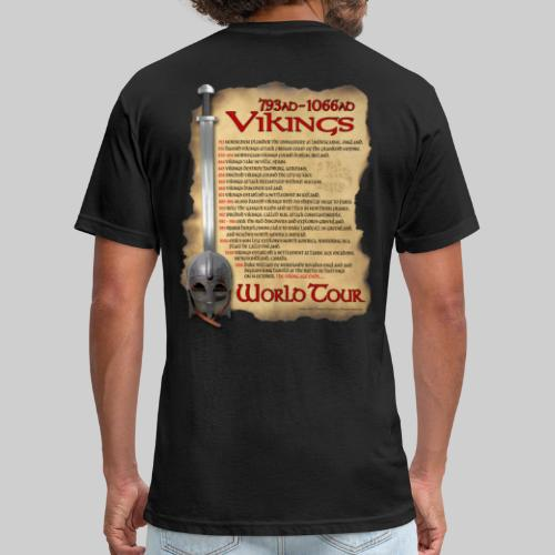 Viking World Tour 1 - Fitted Cotton/Poly T-Shirt by Next Level
