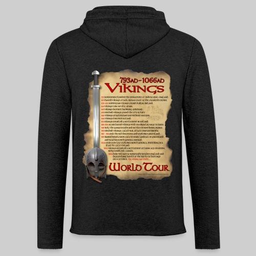 Viking World Tour - Unisex Lightweight Terry Hoodie