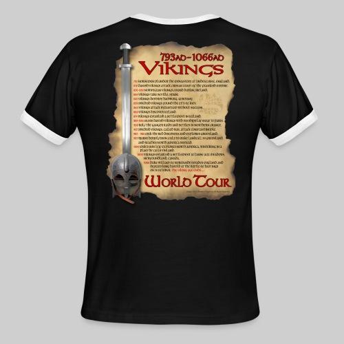 Viking World Tour - Men's Ringer T-Shirt