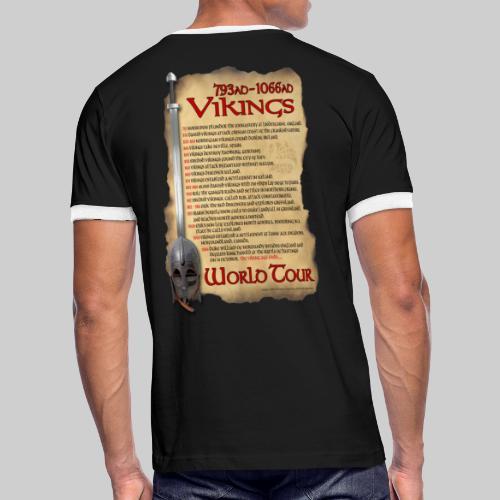 Viking World Tour 1 - Men's Ringer T-Shirt