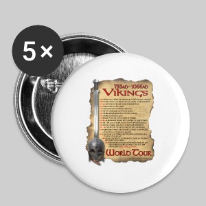 Viking World Tour - Large Buttons