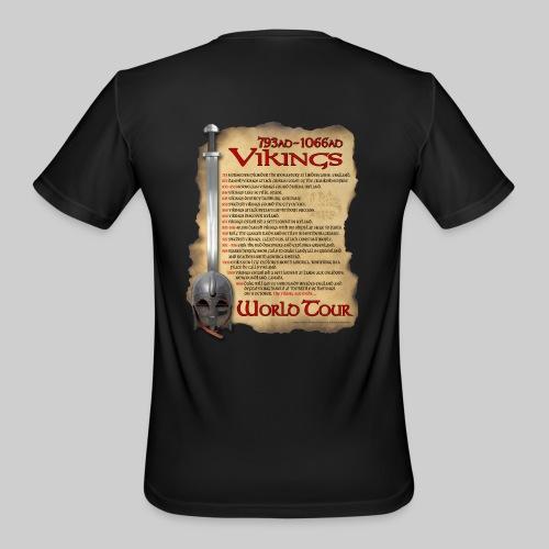 Viking World Tour - Men's Moisture Wicking Performance T-Shirt