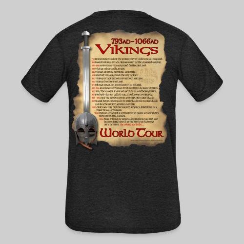 Viking World Tour 1 - Kid's Tri-Blend T-Shirt
