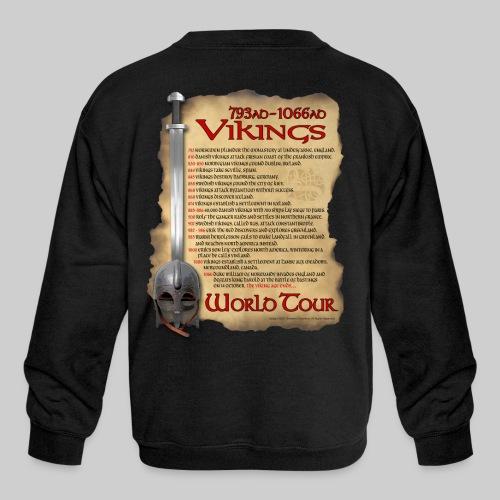 Viking World Tour 1 - Kids' Crewneck Sweatshirt