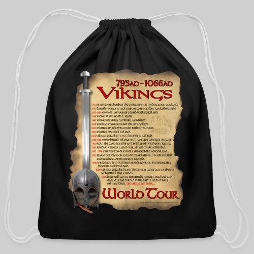 Viking World Tour 1 - Cotton Drawstring Bag