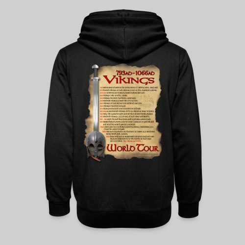 Viking World Tour 1 - Shawl Collar Hoodie