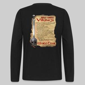 Viking World Tour - Men's Long Sleeve T-Shirt by Next Level