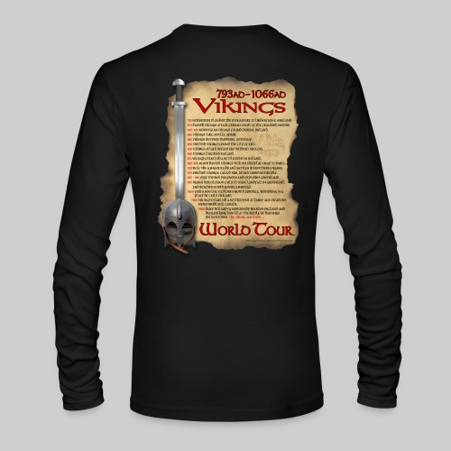 Viking World Tour - Men's Long Sleeve T-Shirt by Next Level