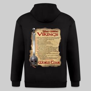 Viking World Tour - Men's Zip Hoodie
