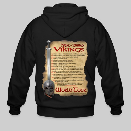 Viking World Tour - Men's Zip Hoodie