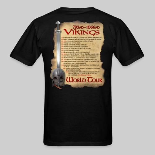 Viking World Tour 1 - Men's T-Shirt