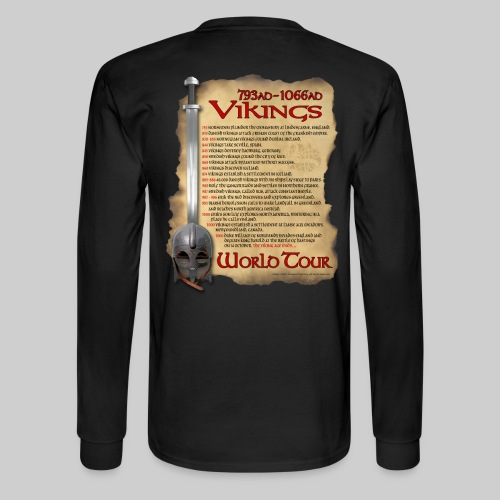 Viking World Tour 1 - Men's Long Sleeve T-Shirt