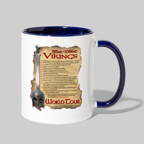 Viking World Tour 1 - Contrast Coffee Mug