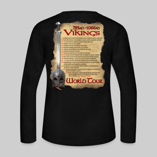 Viking World Tour 1 - Women's Long Sleeve Jersey T-Shirt