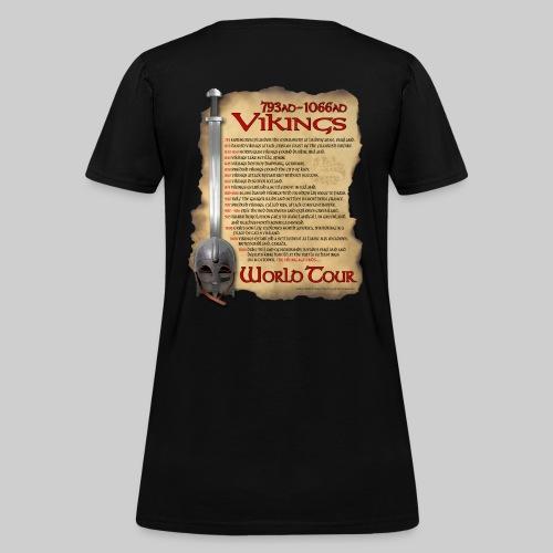 Viking World Tour 1 - Women's T-Shirt