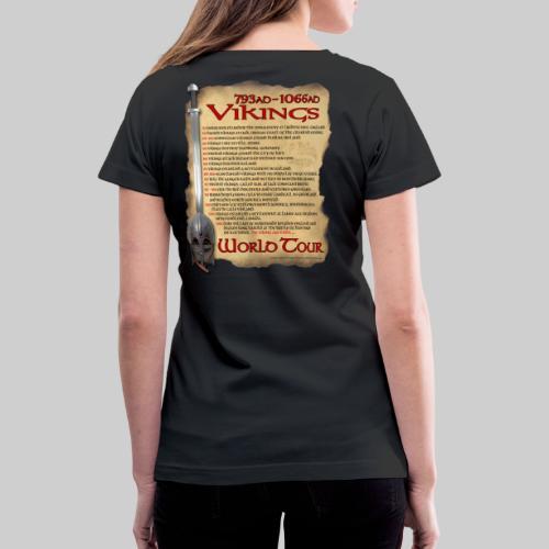 Viking World Tour 1 - Women's V-Neck T-Shirt