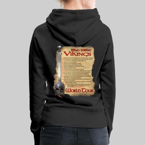 Viking World Tour 1 - Women's Premium Hoodie