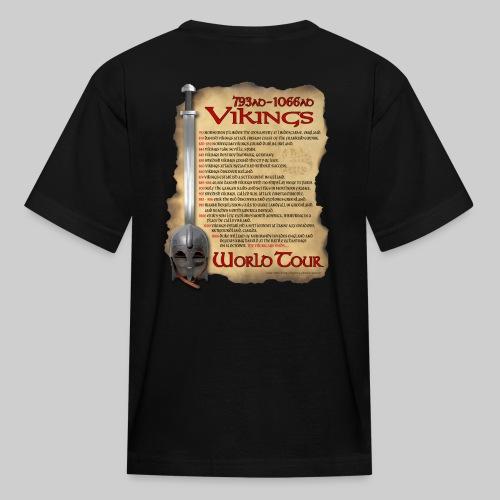 Viking World Tour - Kids' T-Shirt