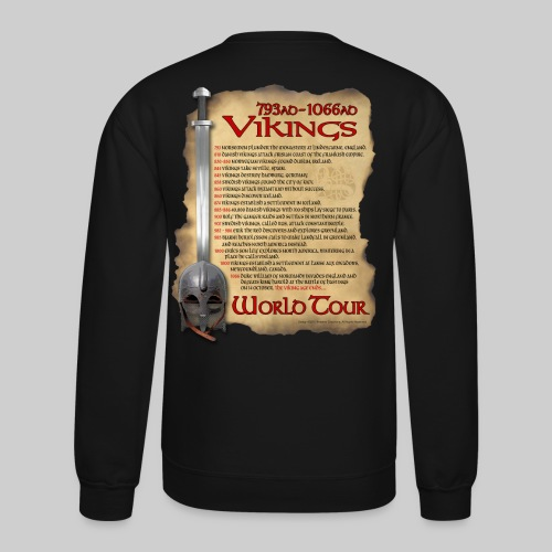 Viking World Tour 1 - Crewneck Sweatshirt