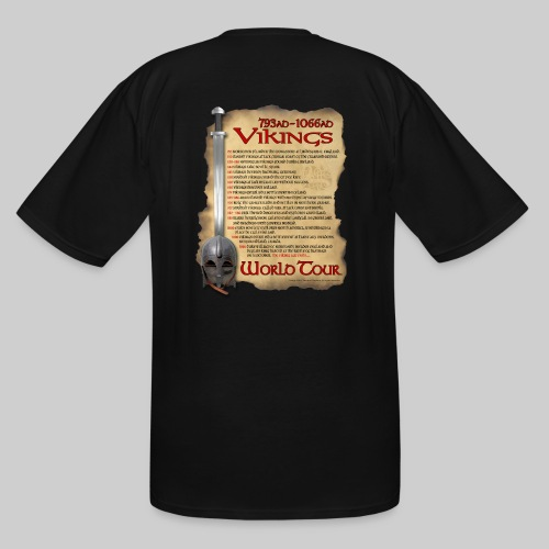 Viking World Tour 1 - Men's Tall T-Shirt
