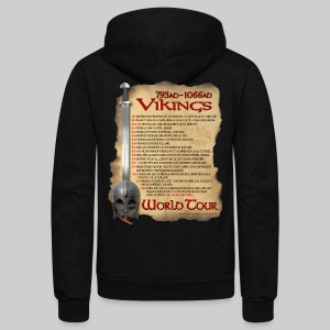 Viking World Tour - Unisex Fleece Zip Hoodie