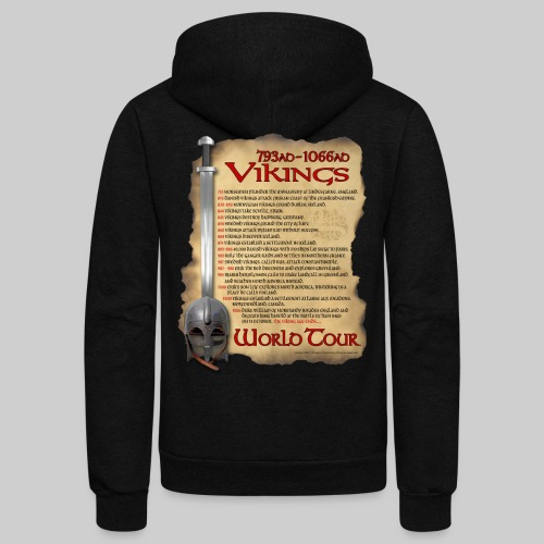 Viking World Tour 1 - Unisex Fleece Zip Hoodie