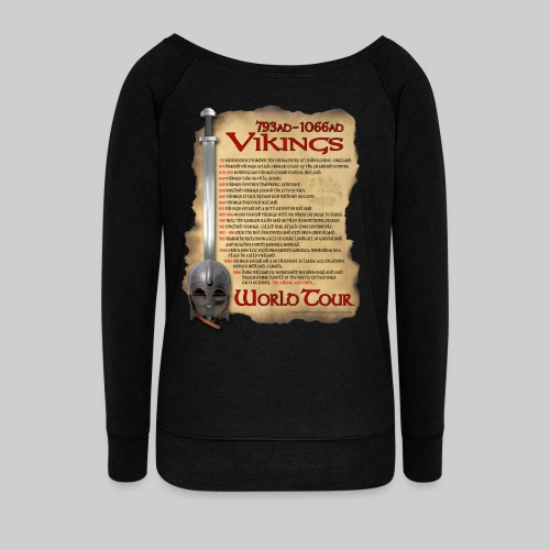 Viking World Tour 1 - Women's Wideneck Sweatshirt