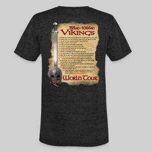 Viking World Tour - Unisex Tri-Blend T-Shirt