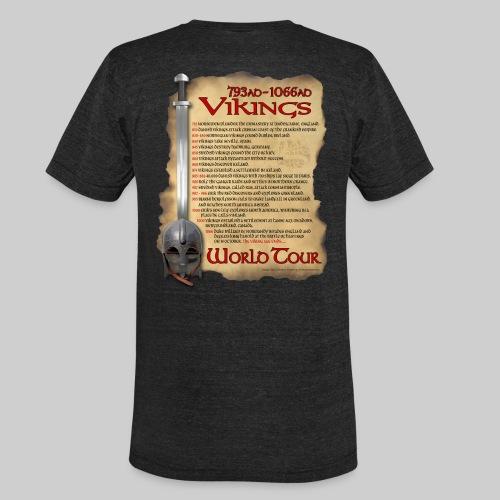 Viking World Tour 1 - Unisex Tri-Blend T-Shirt