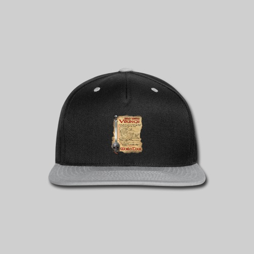 Viking World Tour 1 - Snap-back Baseball Cap