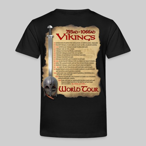 Viking World Tour 1 - Toddler Premium T-Shirt