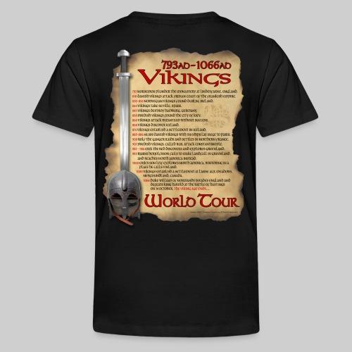 Viking World Tour 1 - Kids' Premium T-Shirt