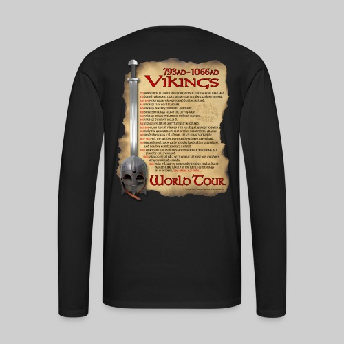 Viking World Tour 1 - Men's Premium Long Sleeve T-Shirt