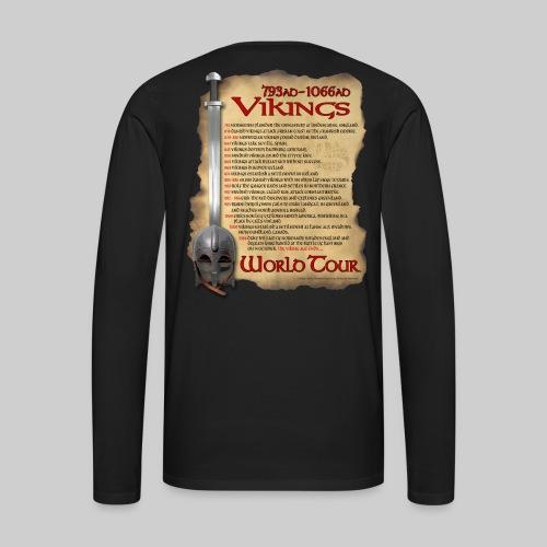 Viking World Tour 1 - Men's Premium Long Sleeve T-Shirt