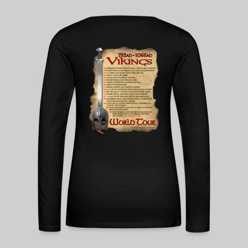 Viking World Tour 1 - Women's Premium Long Sleeve T-Shirt