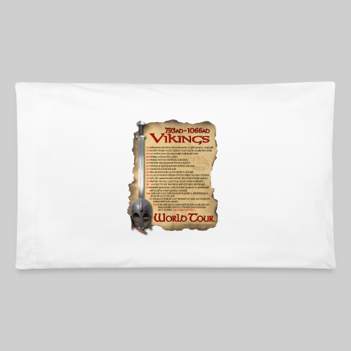 Viking World Tour 1 - Pillowcase