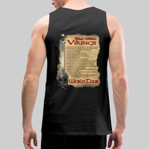 Viking World Tour 1 - Men's Premium Tank